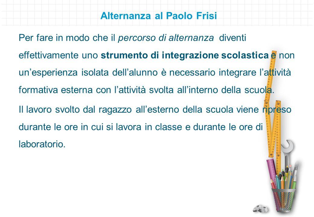 Alternanza al Paolo Frisi
