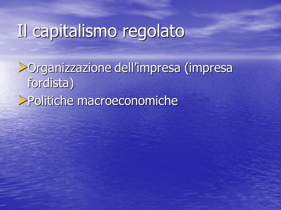 Il capitalismo regolato