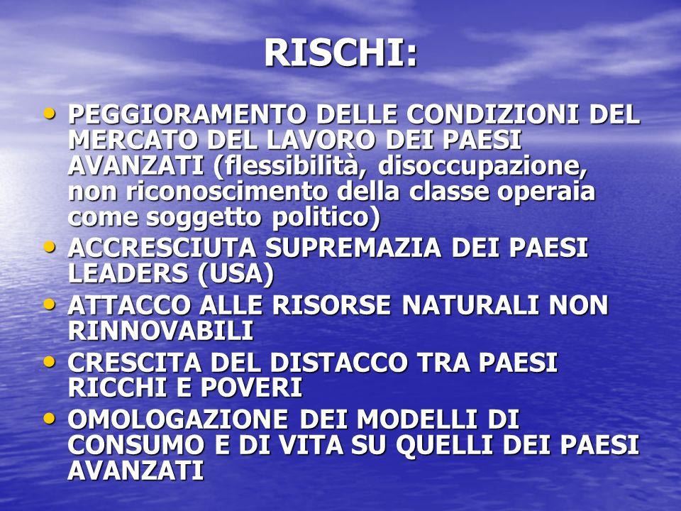 RISCHI: