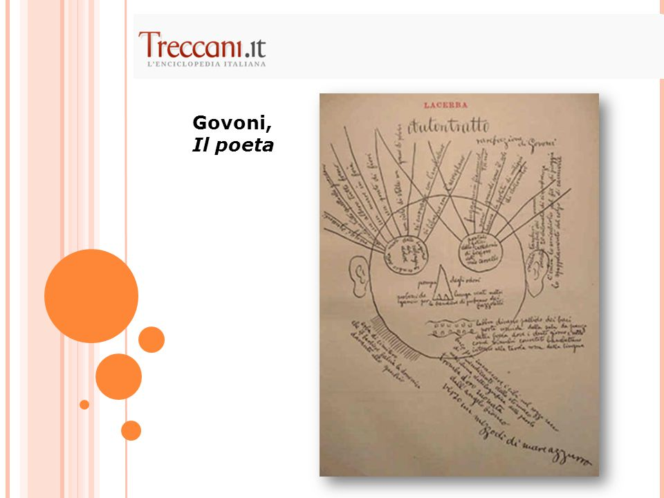 Govoni, Il poeta