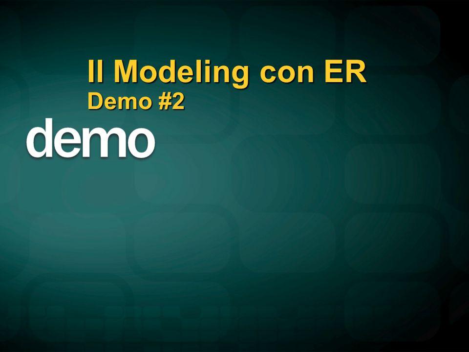 Il Modeling con ER Demo #2