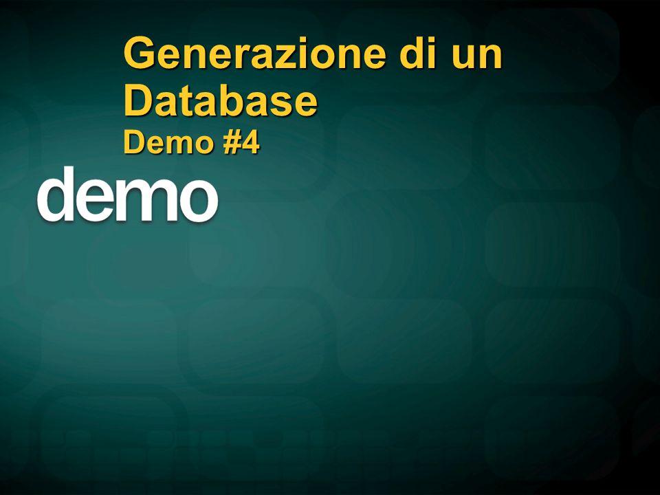 Generazione di un Database