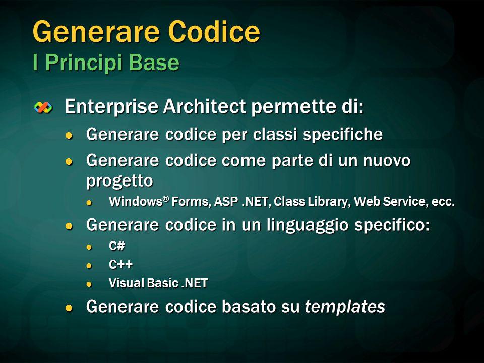 Generare Codice I Principi Base