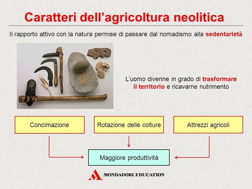 Caratteri dell'agricoltura neolitica