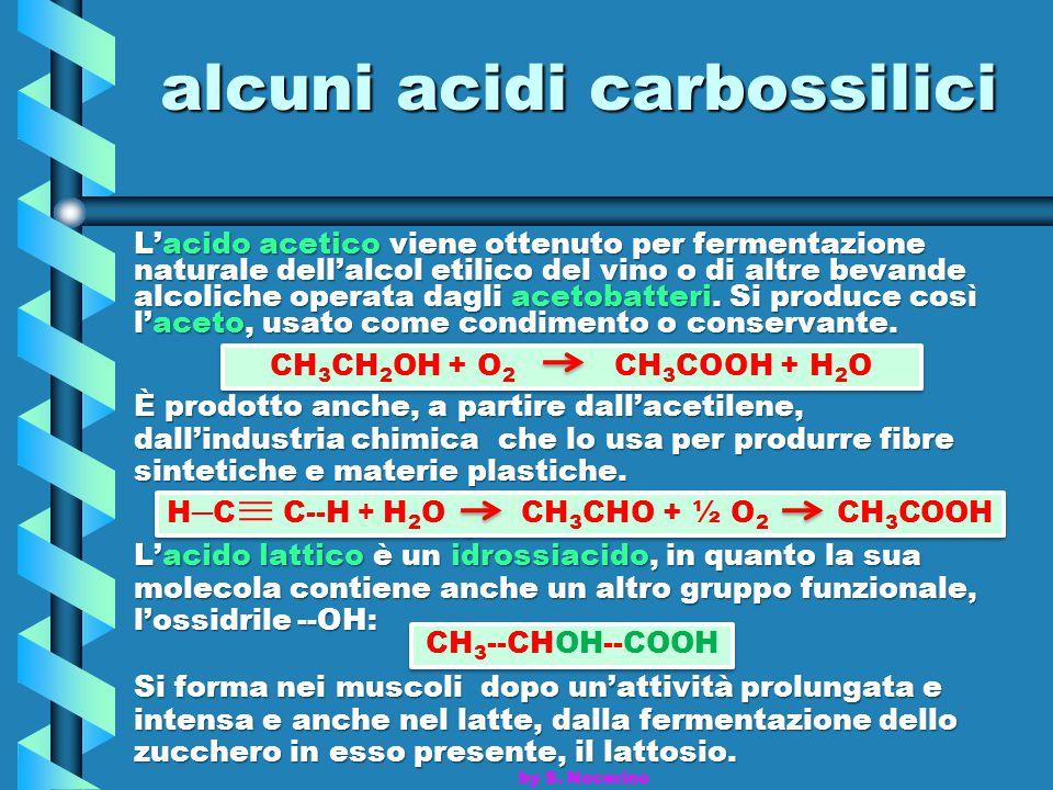 alcuni acidi carbossilici