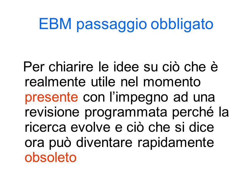 EBM passaggio obbligato