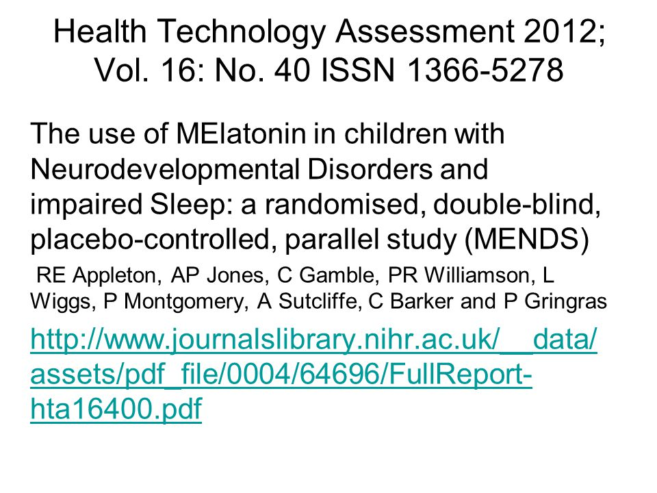 Health Technology Assessment 2012; Vol. 16: No. 40 ISSN 1366-5278