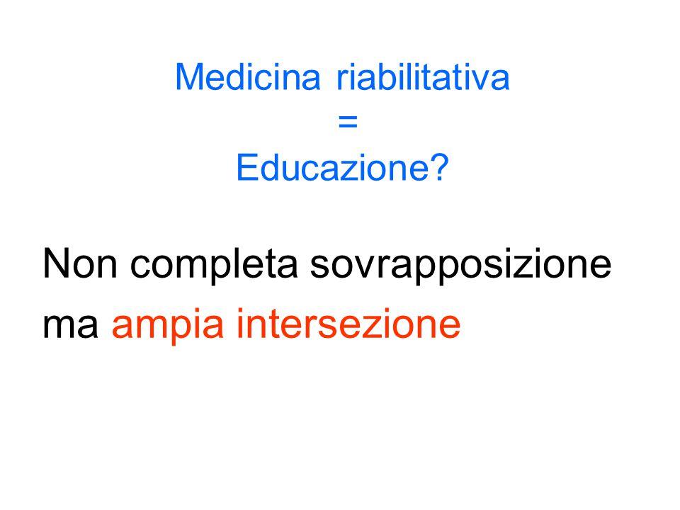 Medicina riabilitativa = Educazione
