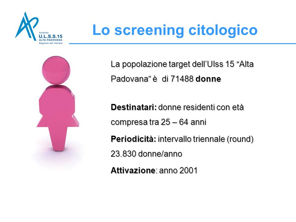 Lo screening citologico