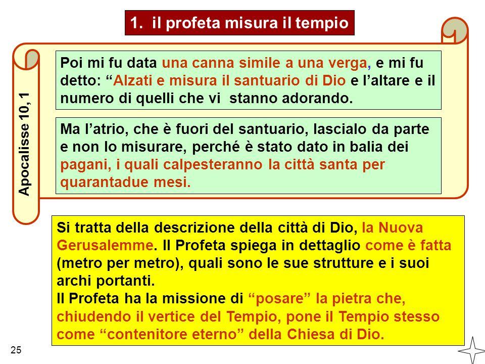 1. il profeta misura il tempio