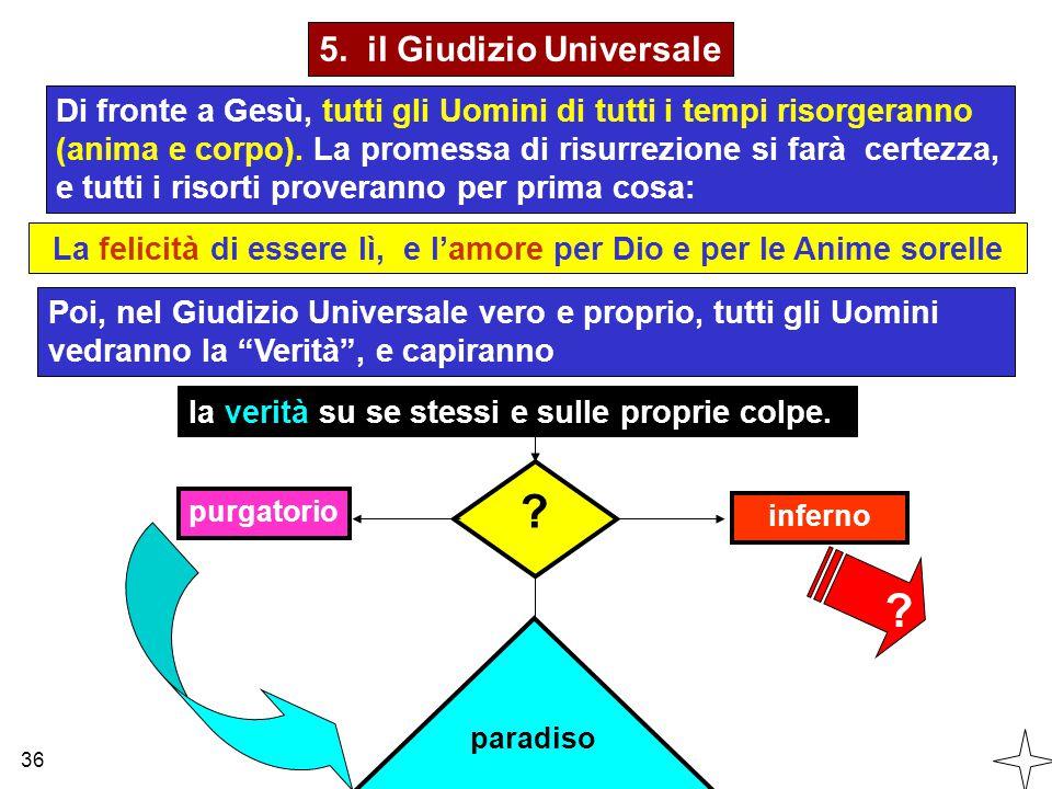 5. il Giudizio Universale