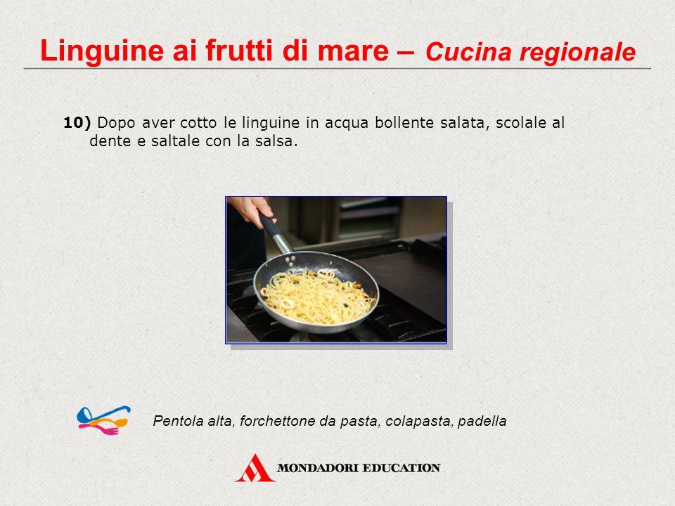 Linguine ai frutti di mare – Cucina regionale