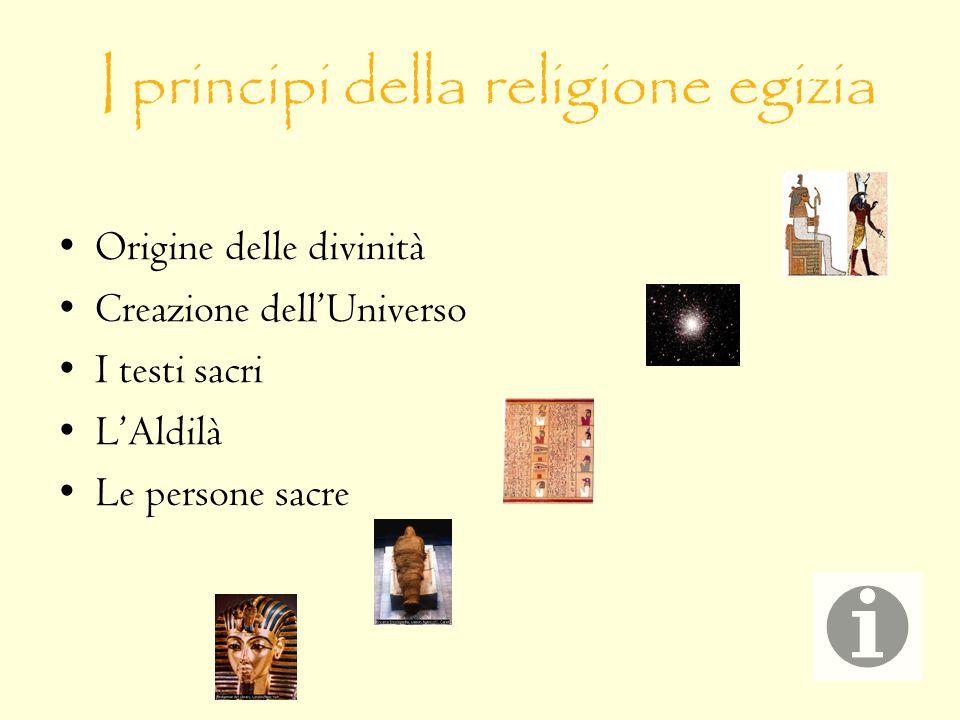 I principi della religione egizia