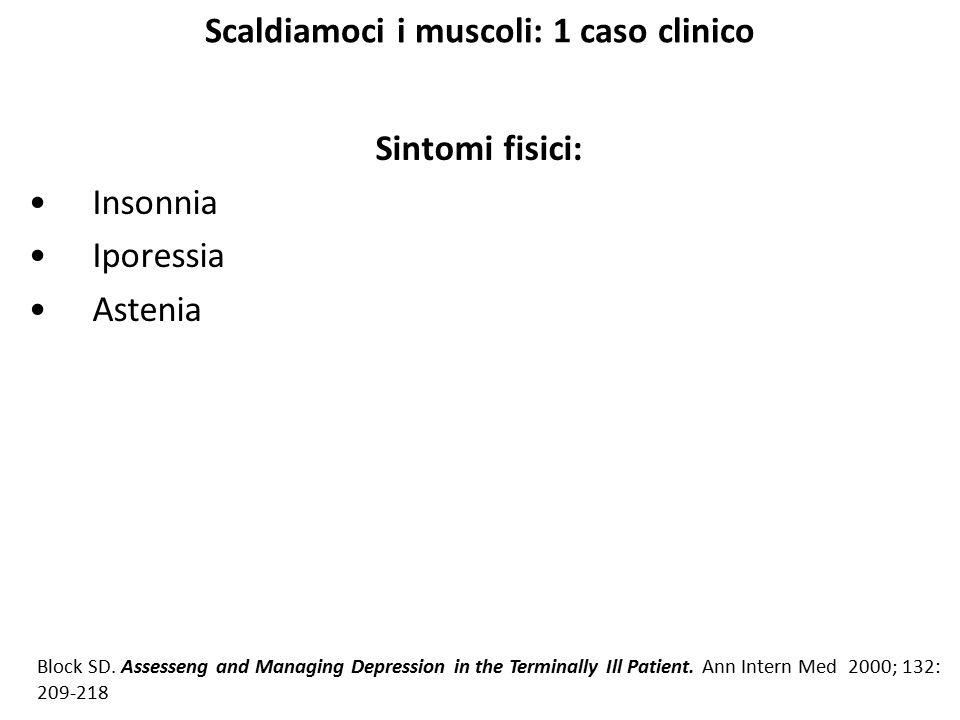 Scaldiamoci i muscoli: 1 caso clinico