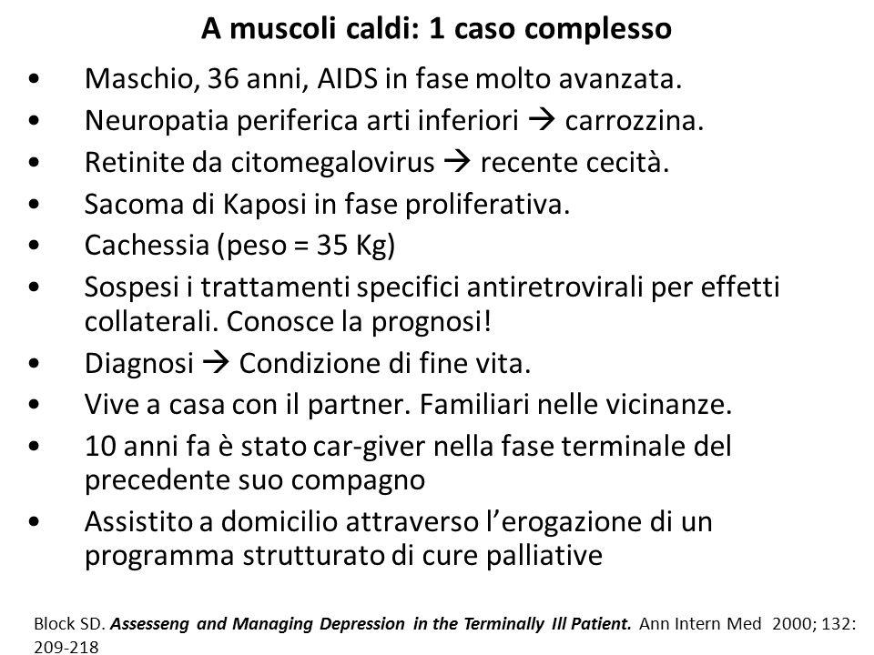 A muscoli caldi: 1 caso complesso