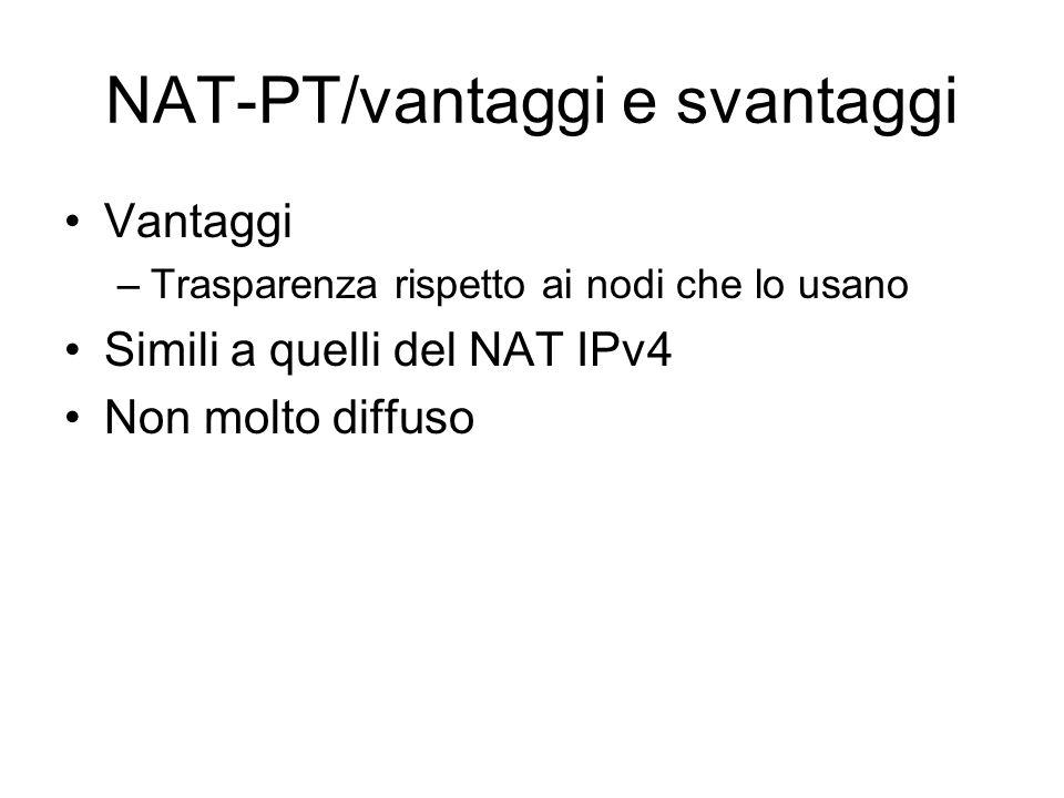 NAT-PT/vantaggi e svantaggi