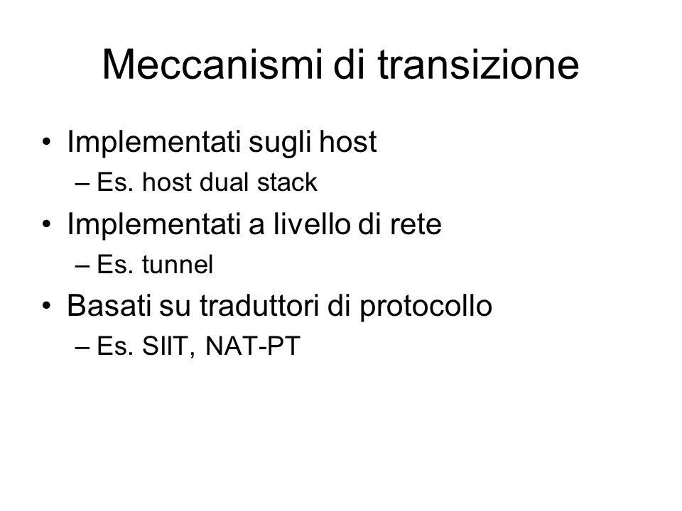 Meccanismi di transizione