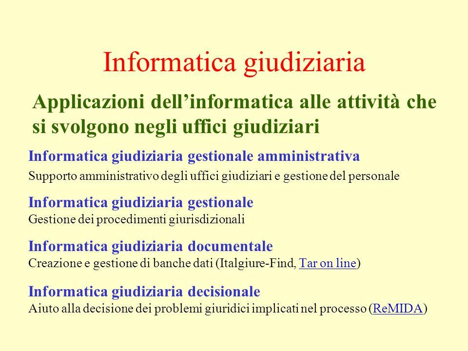Informatica giudiziaria