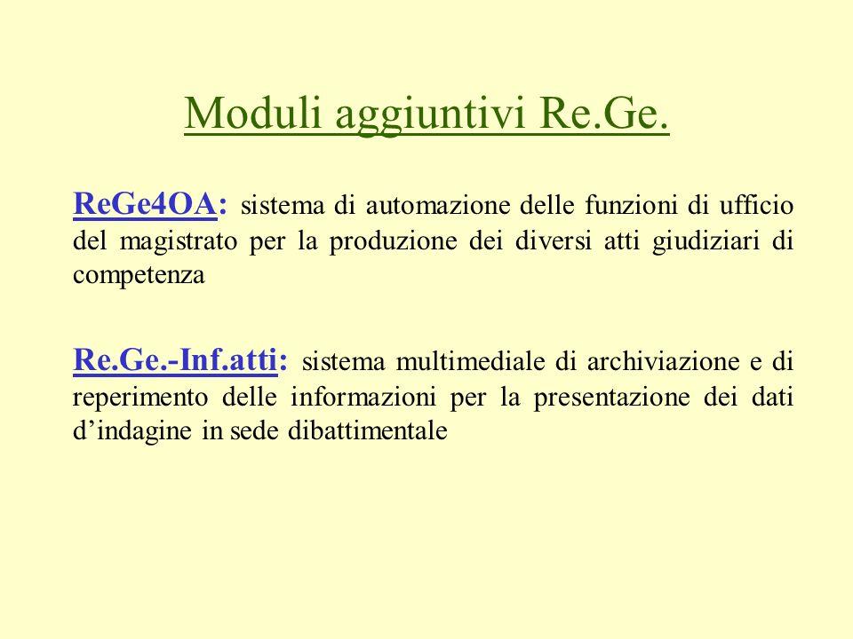 Moduli aggiuntivi Re.Ge.