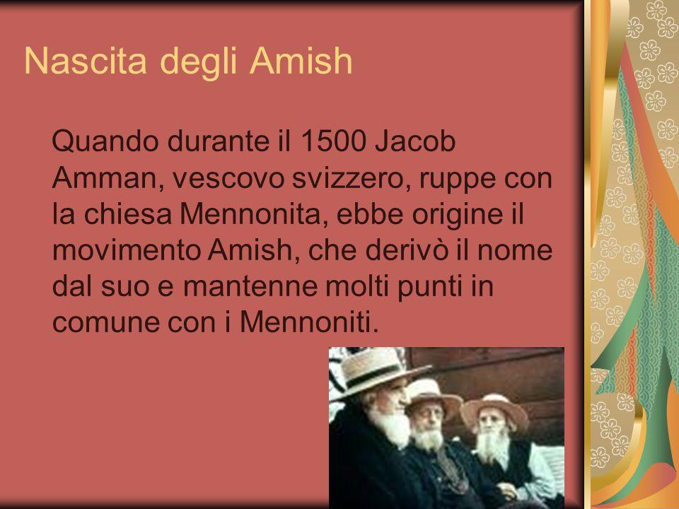 Nascita degli Amish