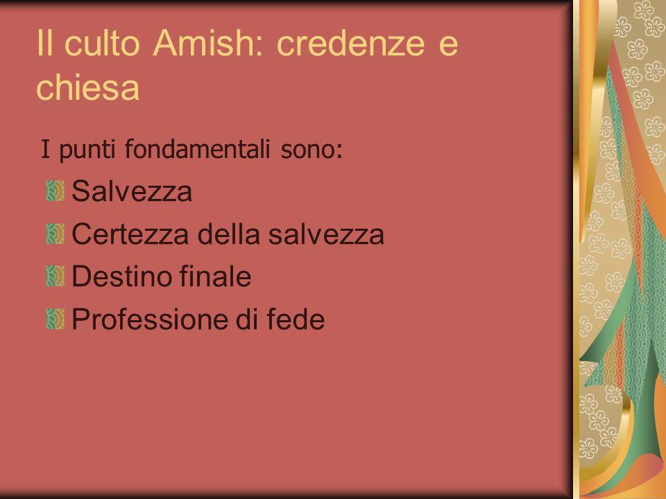 Il culto Amish: credenze e chiesa