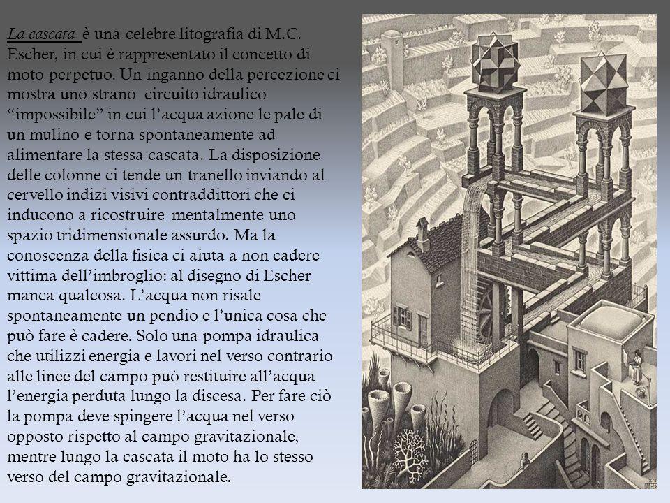 La cascata è una celebre litografia di M. C