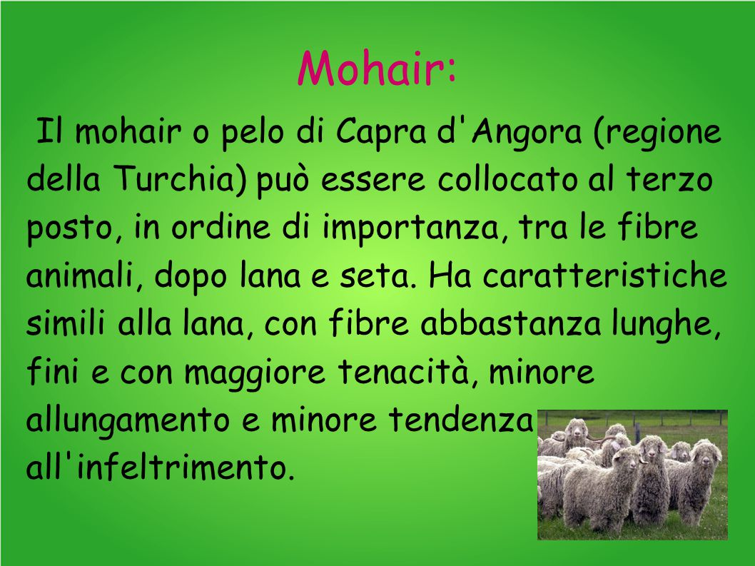 Mohair: