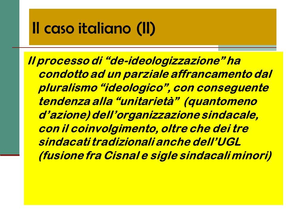 Il caso italiano (II)