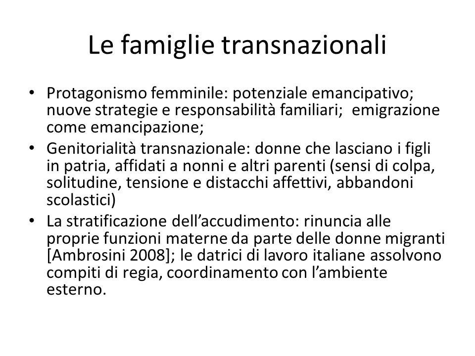 Le famiglie transnazionali