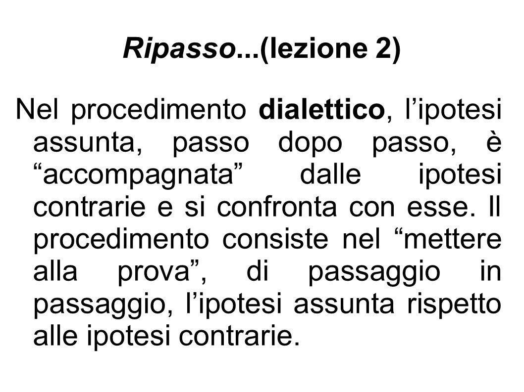 Ripasso...(lezione 2)