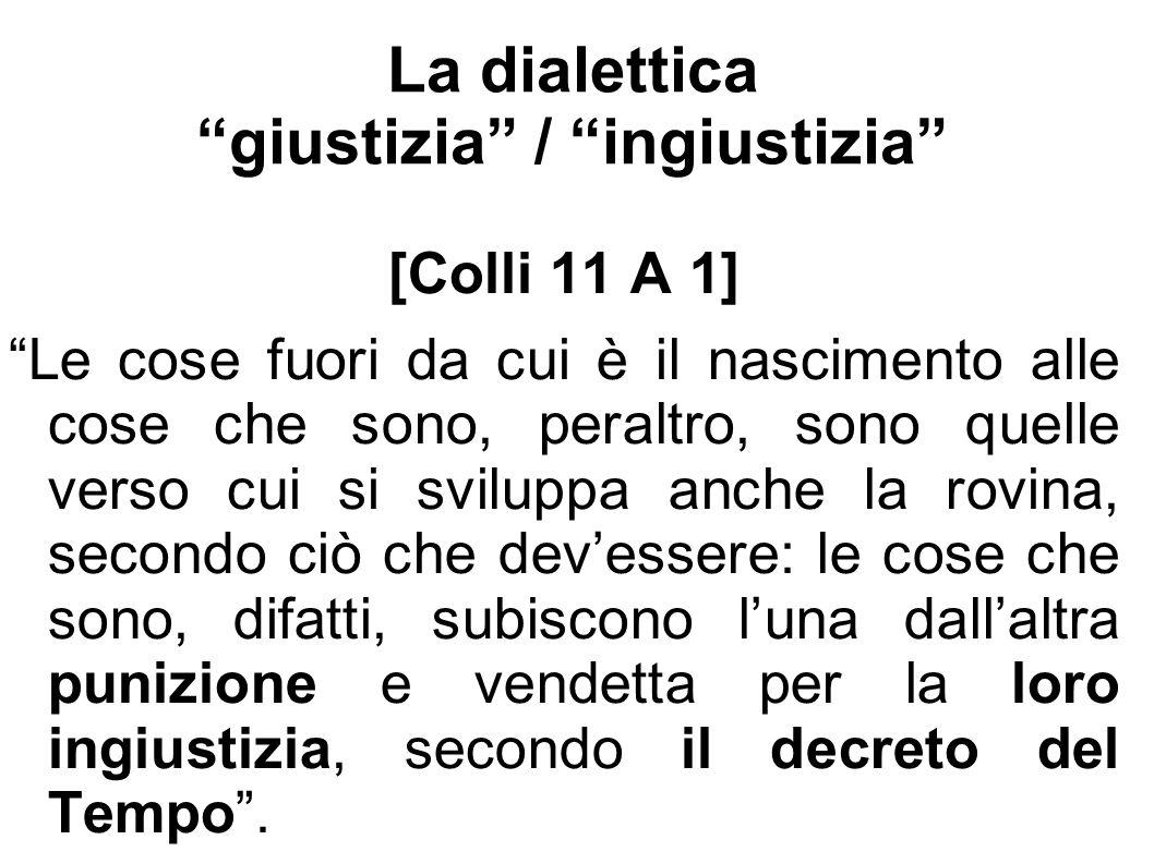La dialettica giustizia / ingiustizia