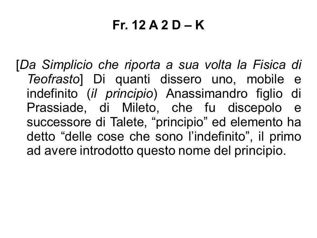 Fr. 12 A 2 D – K