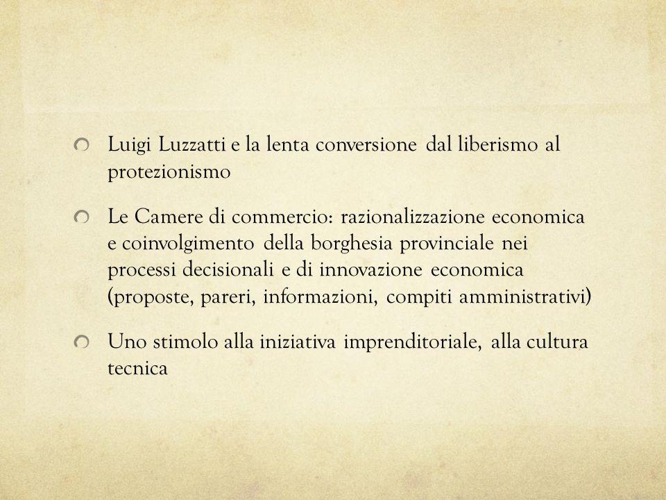 Luigi Luzzatti e la lenta conversione dal liberismo al protezionismo