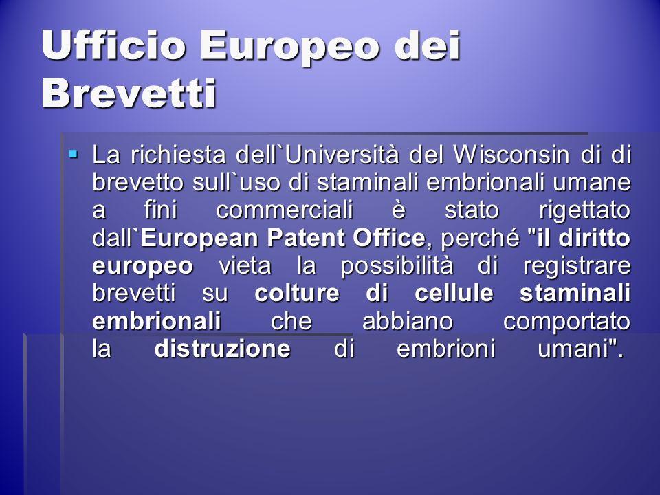 Ufficio Europeo dei Brevetti