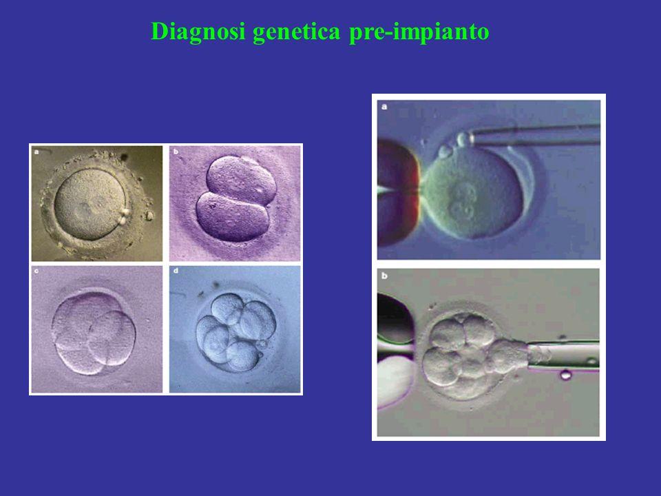 Diagnosi genetica pre-impianto