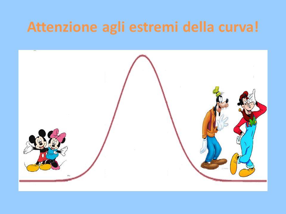 Attenzione agli estremi della curva!