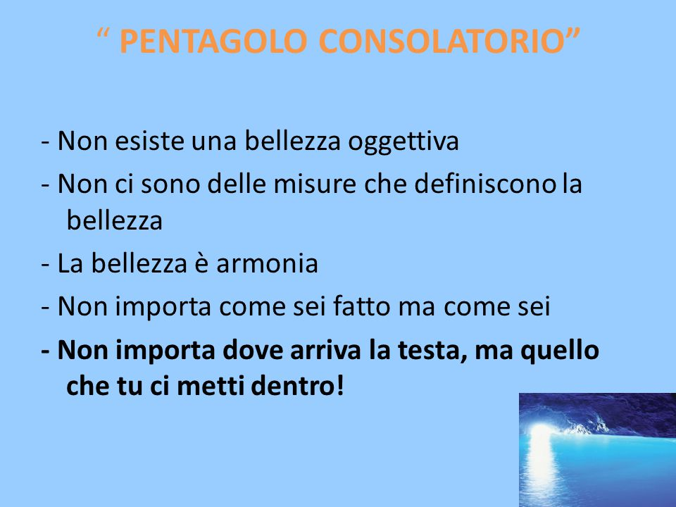 PENTAGOLO CONSOLATORIO