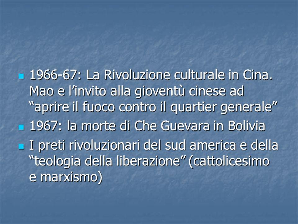 1966-67: La Rivoluzione culturale in Cina