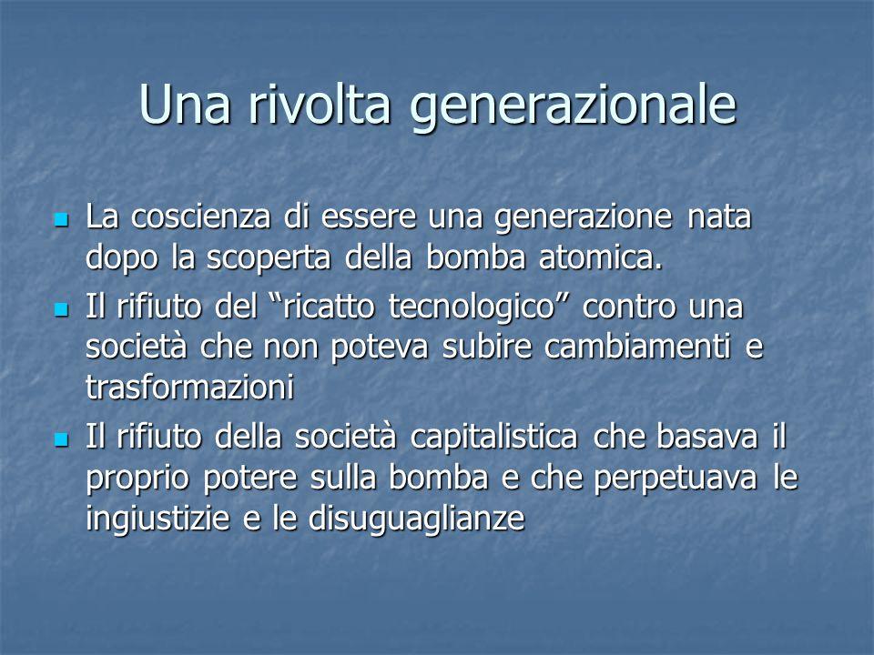 Una rivolta generazionale