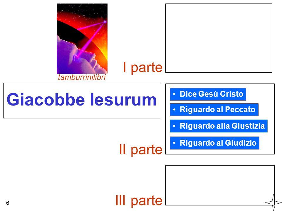 Giacobbe Iesurum I parte II parte III parte tamburrinilibri