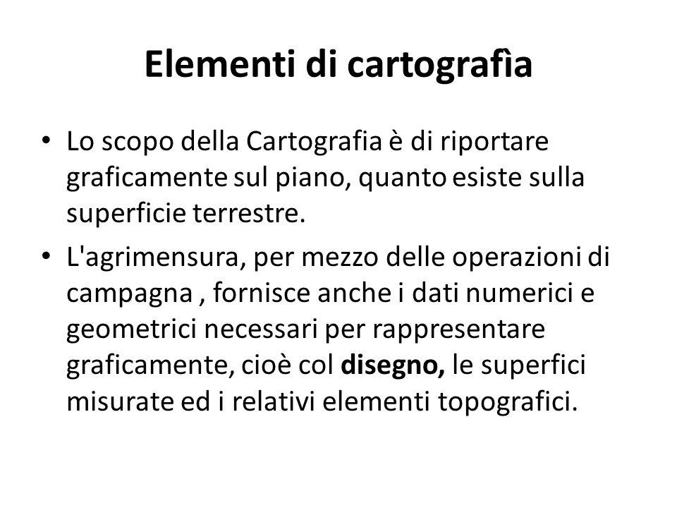 Elementi di cartografìa