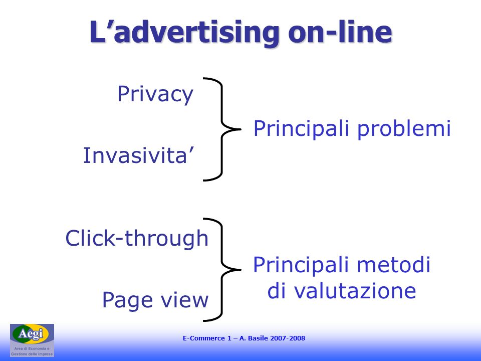 L'advertising on-line