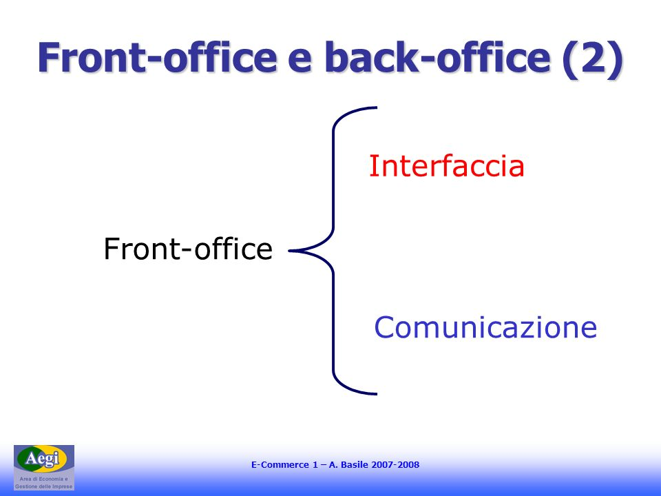 Front-office e back-office (2)