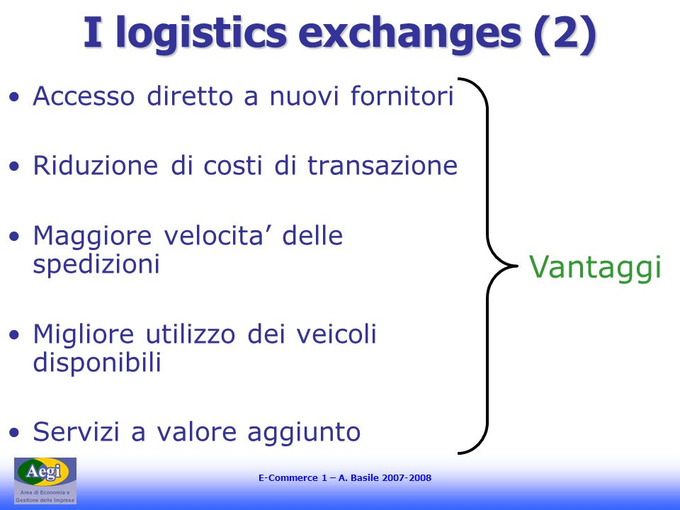 I logistics exchanges (2)