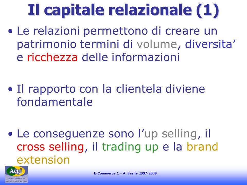 Il capitale relazionale (1)
