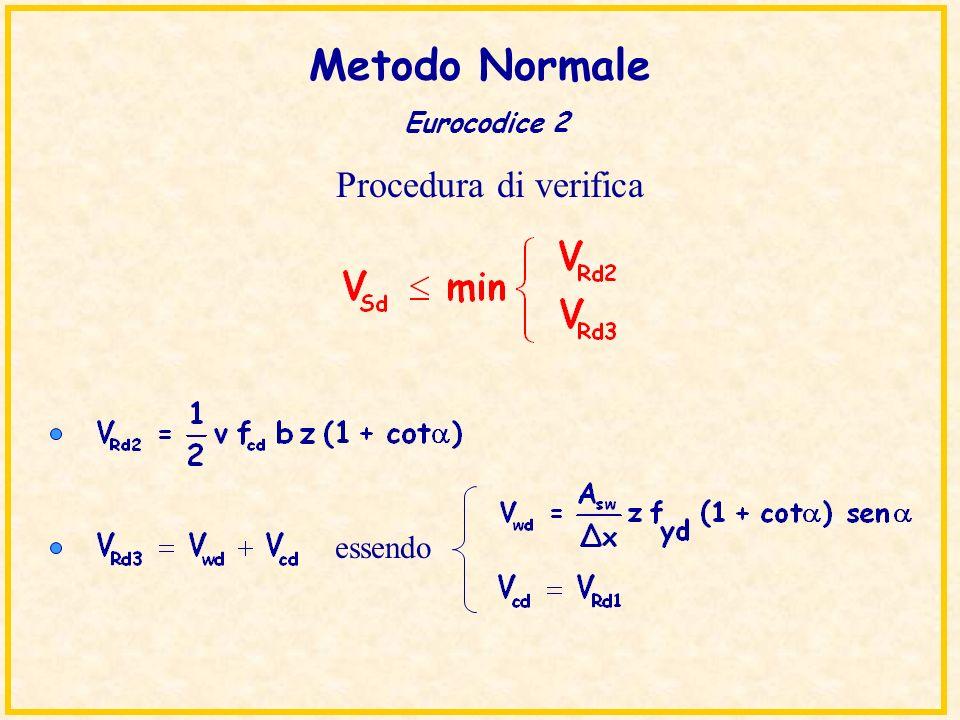 Metodo Normale Eurocodice 2