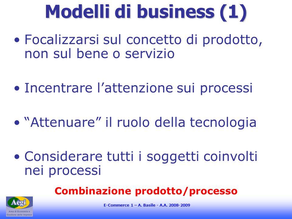 Combinazione prodotto/processo