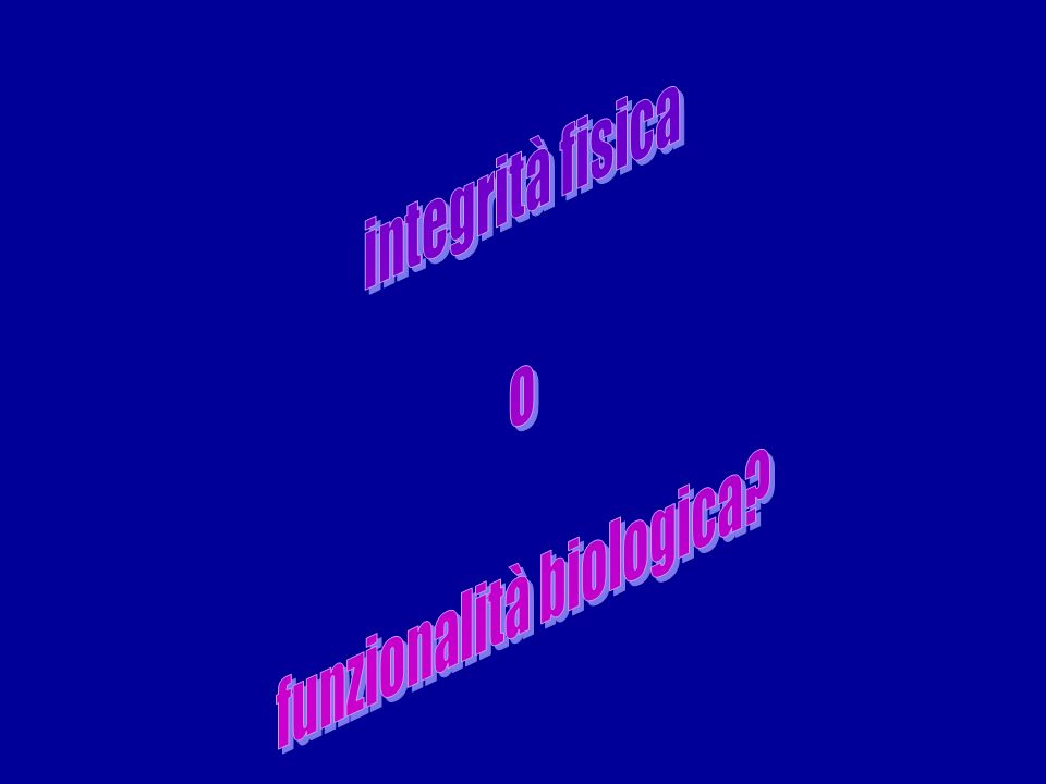 funzionalità biologica