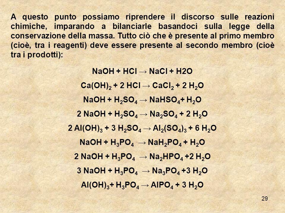 2 Al(OH)3 + 3 H2SO4 → Al2(SO4)3 + 6 H2O