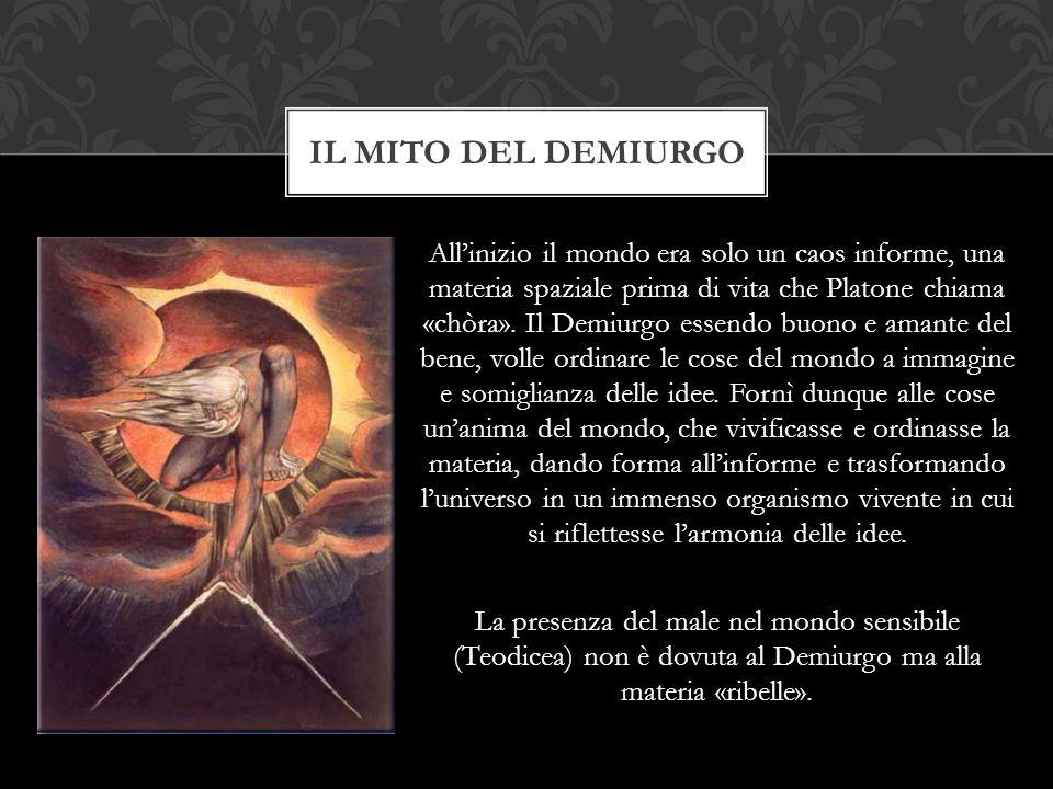 Il mito del demiurgo